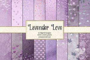 Lavender Love Backgrounds