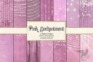 Enchanted Pink Backgrounds