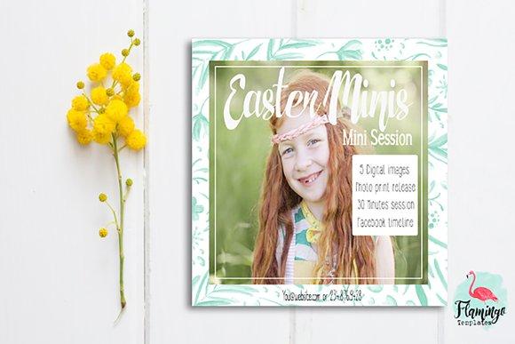 Easter Mini Session Marketing Board