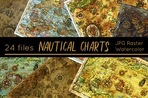 Antique Nautical Charts