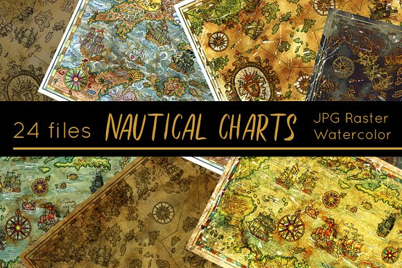 Antique Nautical Charts