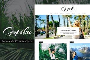 Gopika - Personal Blog Theme