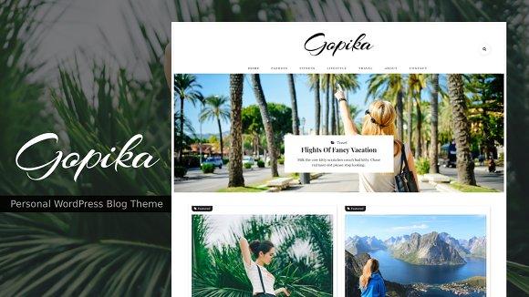 Gopika Personal Blog Theme