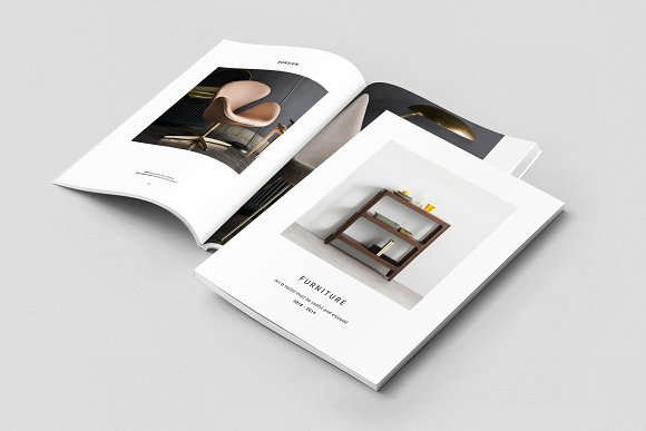 C E N T R E — Furniture Catalog in Brochure Templates - product preview 1
