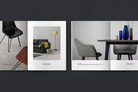 C E N T R E — Furniture Catalog in Brochure Templates - product preview 2