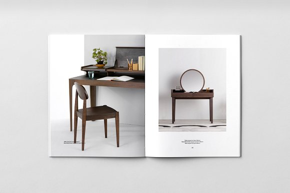 C E N T R E — Furniture Catalog in Brochure Templates - product preview 3