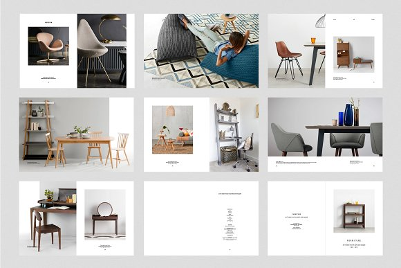 C E N T R E — Furniture Catalog in Brochure Templates - product preview 5
