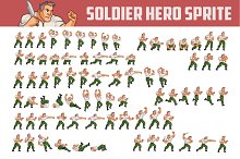 SOLDIER HERO SPRITE