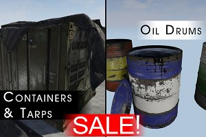 SALE! - Containers & Barrels