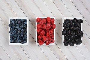 Mini Crates of Berries