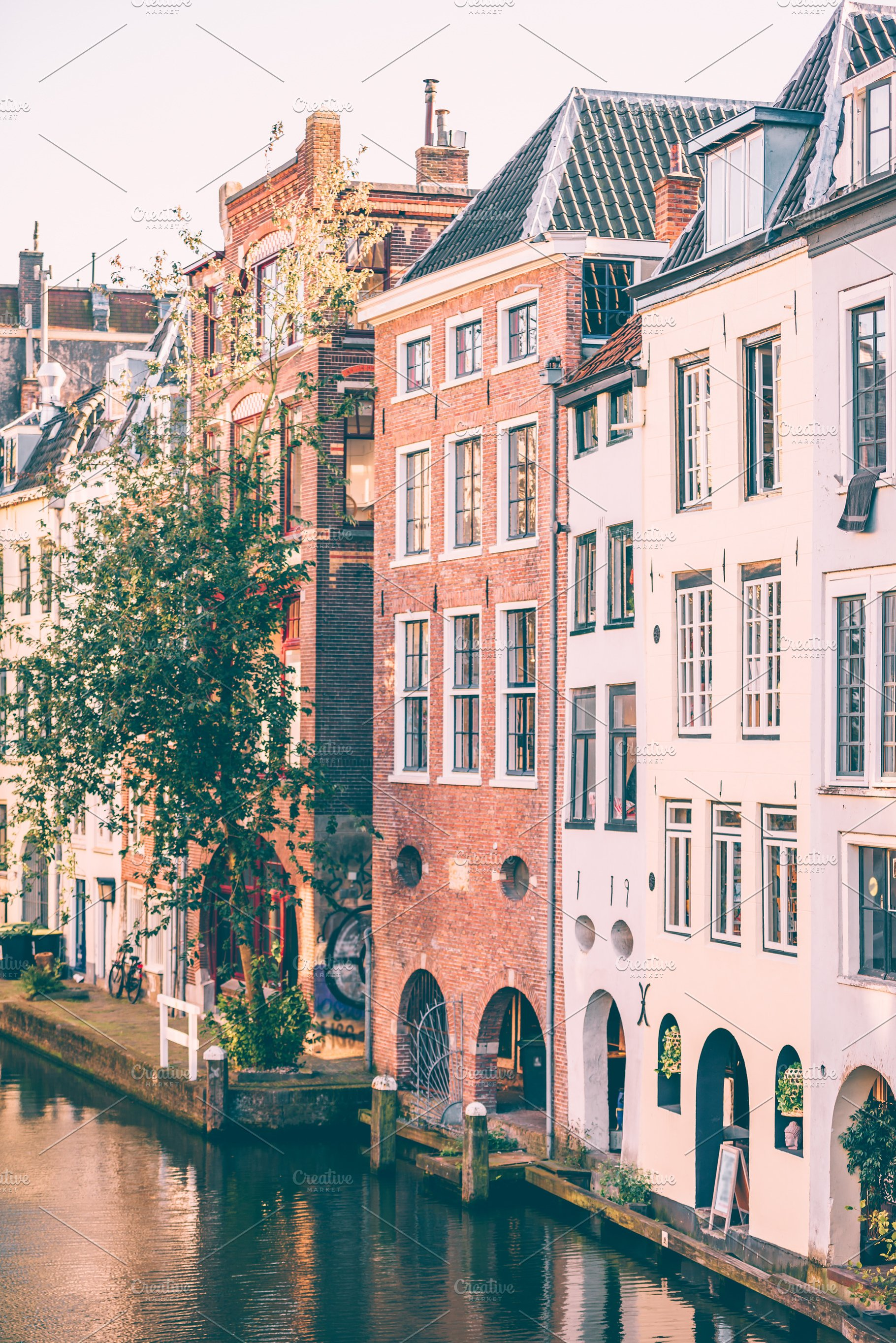 Pink Utrecht Architecture Photos Creative Market