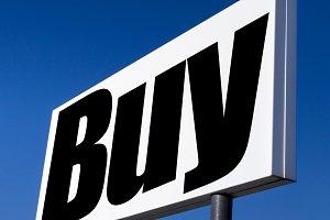 Buy, buy and buy