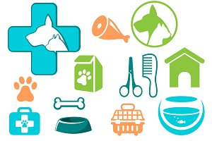 Veterinary symbols