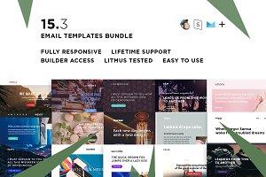 15 Email templates bundle III