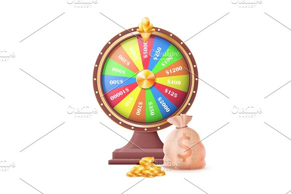 Fortune Wheel Of Luck Automatic Gambling Machine