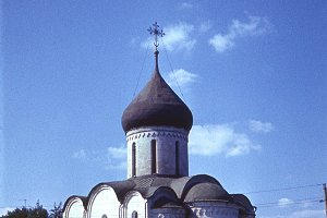 retro photo, Russian Church