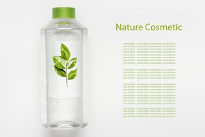 Nature herbal cosmetic concept