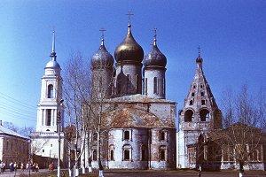 retro photo, Russian orthodox Church