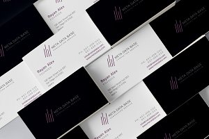 Corporate Logo with Business Card