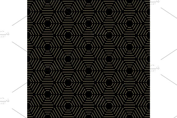 Modern Vector Seamless Dotted Pattern