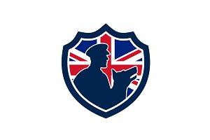 British Police Canine Team Crest Ico