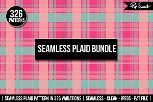 Plaid Bundle 326 Pattern Set