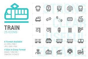 Train Mini Icon