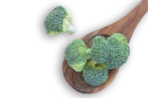 Fresh broccoli vegetable