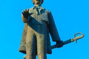 Avram Iancu monument in Cluj-Napoka