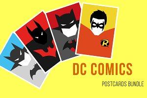 DC comics postcrads