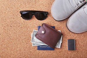 men's accessories for the tourist