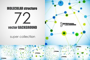 72 beautiful molecular structure