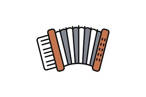 Accordion color icon