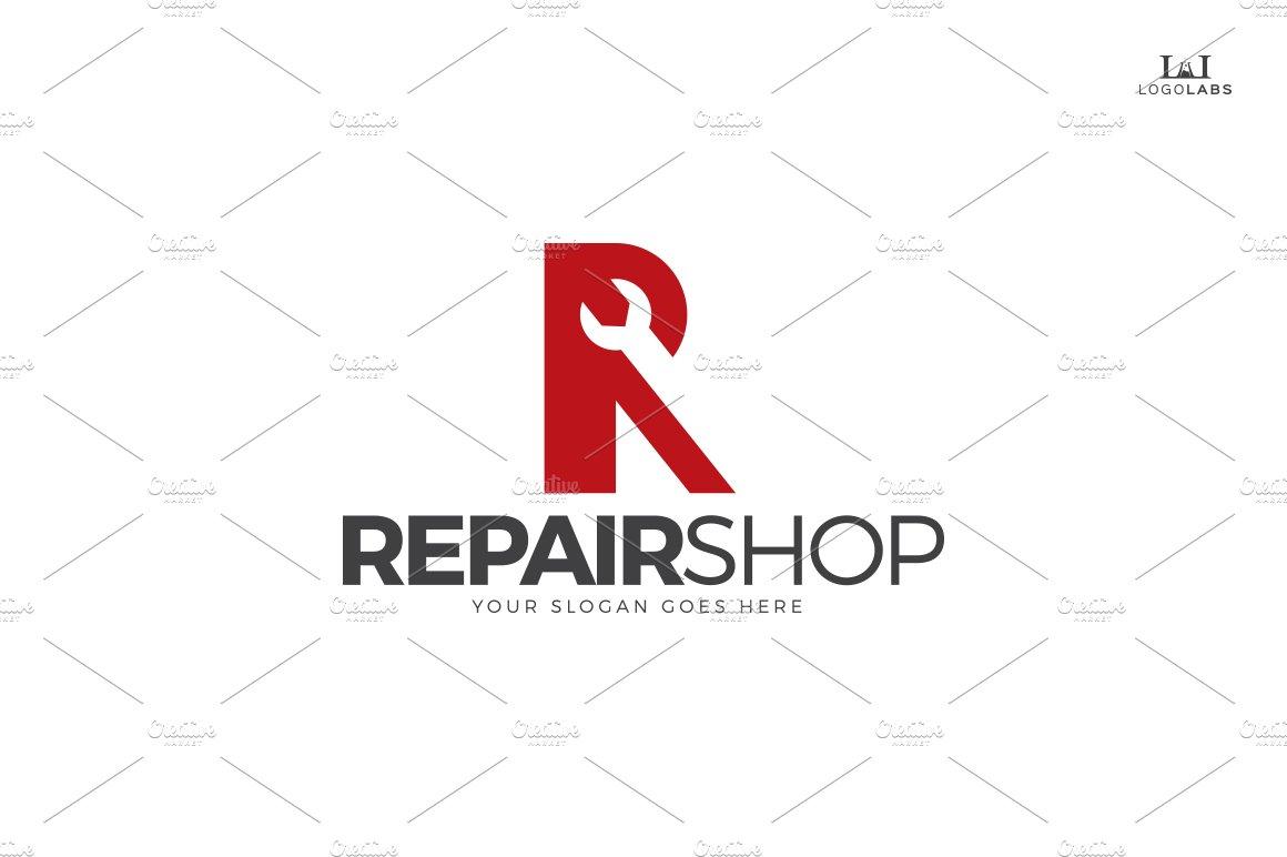 Repair Shop Logo ~ Logo Templates ~ Creative Market