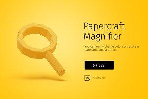 Papercraft Magnifier