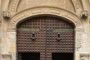 Door of the Cathedral of Orihuela