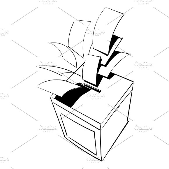 Illustration Of Election Concept