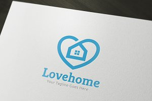 Love Home Logo