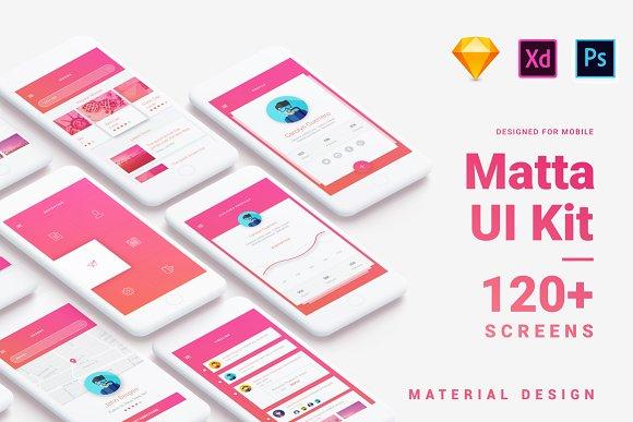 Material Design UI BUNDLE 40% Off