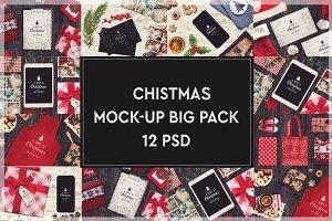 Christmas Mock-up Big Pack #5