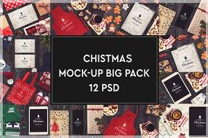 Christmas Mock-up Big Pack #6