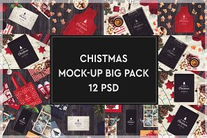Christmas Mock-up Big Pack #7