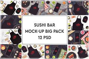 Sushi Bar Mock-up Pack #1
