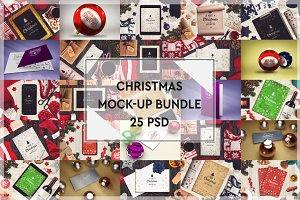 Christmas Mock-up Bundle #1