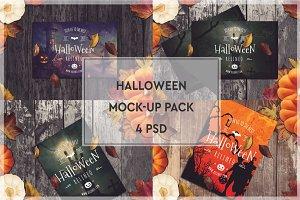 Halloween Mock-up Pack #2