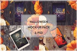 Halloween Mock-up Pack #3