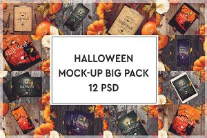 Halloween Mock-up Big Pack #1