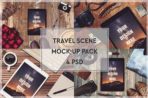 Travel Scene Mock-up Pack #1