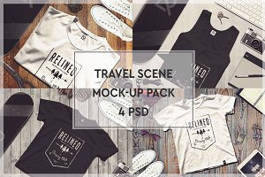 Travel Scene Mock-up Pack #5