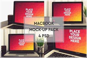 MacBook Mock-up Pack #1
